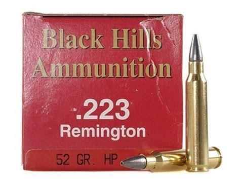 52 Grain 223 Ammo