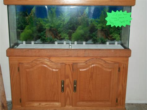 55 Gallon Aquarium With Stand And Canopy