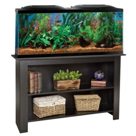 55 Gallon Aquarium With Stand Ensemble
