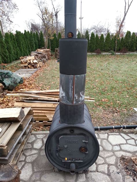 55 Gallon Drum Wood Stove Diy