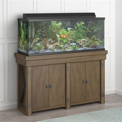 55 Gallon Fish Tank With Stand Walmart