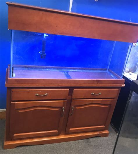 55 Gallon Fish Tank Wood Canopy