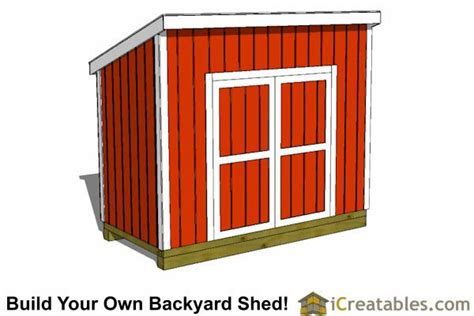 5x10-Lean-To-Shed-Plans