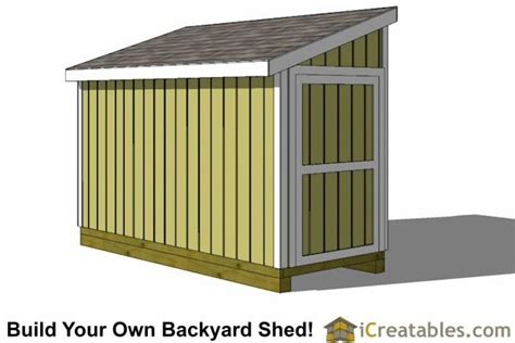 5x12-Lean-To-Shed-Plans