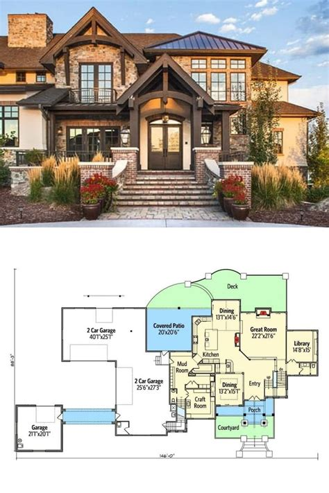 6 Bedroom 2 Storey House Plans