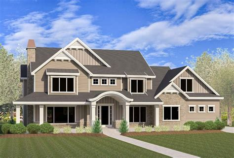 6 Bedroom Farmhouse House Plans