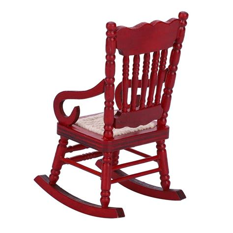 6 Dollhouse Rocking Chair