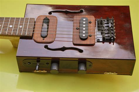 6 String Cigar Box Guitar Build
