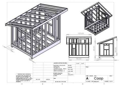 6 X 8 Lean-To Shed Building Plans Free