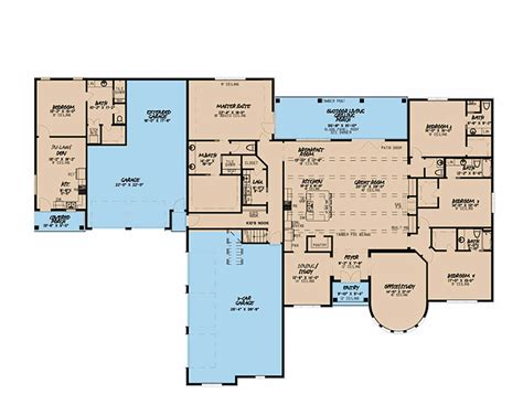 6 bedroom house plans with inlaw suite Image