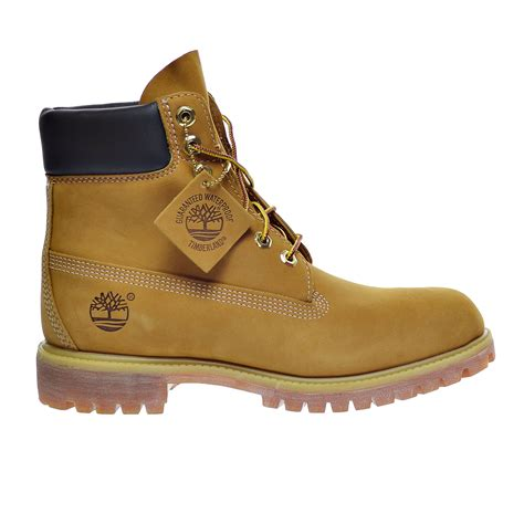 6 inch Premium Men's Boots Wheat Nubuck tb010061