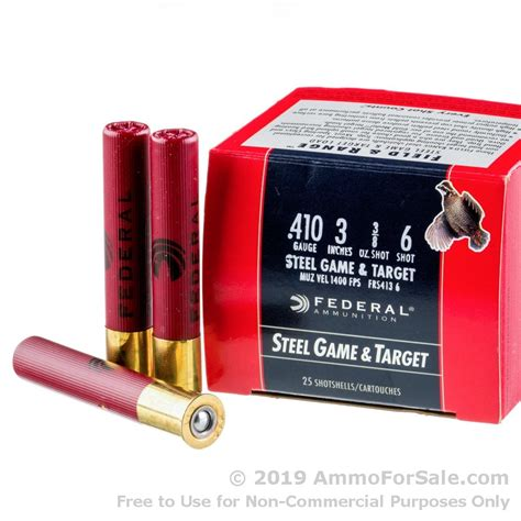 6 410 Shotgun Shells