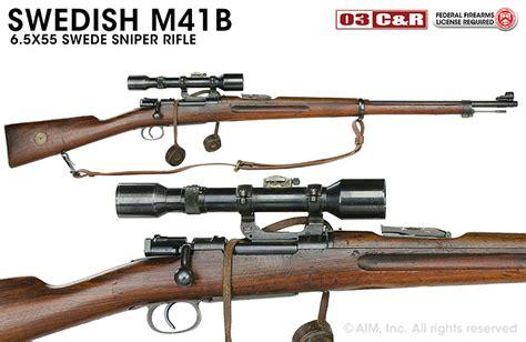 6 5x55 Swede Sniper Rifle