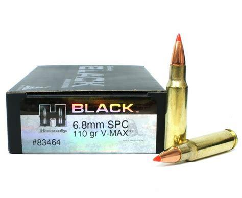 6 8mm Rem SPC Ammo Hornady Rifle 110 Grains - AmmoSeek
