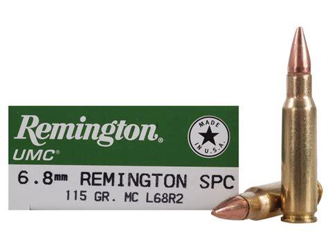 6 8mm SPC Remington UMC 115gr FMJ Ammo - Ammo To Go
