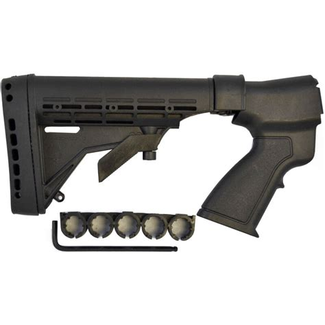 6 Position Adjustable Stock With Aluminum Buffer Tube 12 Gauge