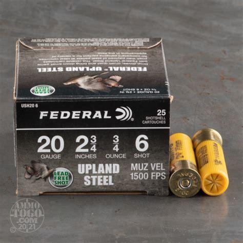6 Steel Shot Shotgun Shells