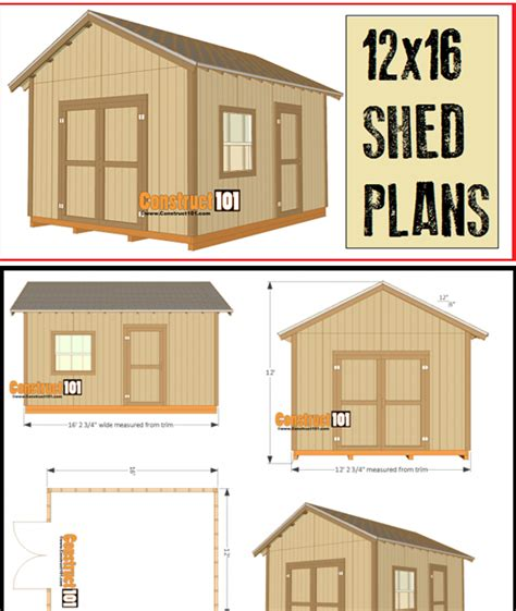 6-By-4-Shed-Plans