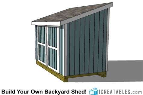6-X-12-Lean-To-Shed-Plans
