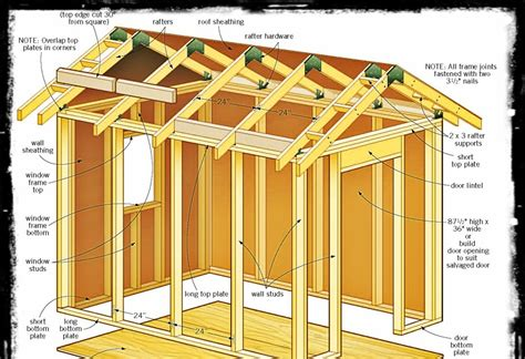 6-X-8-Lean-To-Shed-Building-Plans-Free