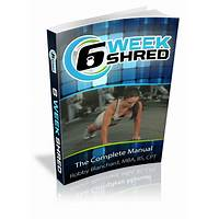 6 week shred fat burning workout program free tutorials