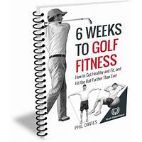 Guide to 6 weeks to golf fitness