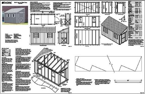 6 x 8 shed plans free Image