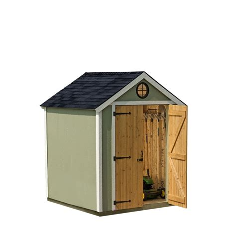 6 x 8 wood storage shed Image
