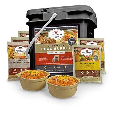 60 Serving Emergency Entree Only Kit Wise Food Storage