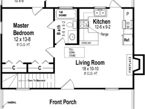 600-Sq-Ft-Tiny-House-Plans