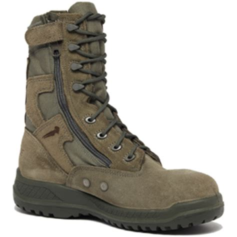 639Z Sage Green USAF Hot Weather Side Zip Composite Toe Boot
