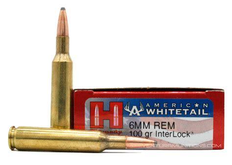 6mm Remington Hornady American Whitetail