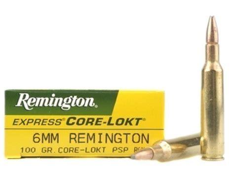 6mm Remington Rifle Ammo