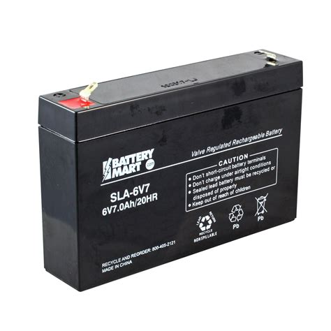 6v Sealed Lead Acid Replacement Battery