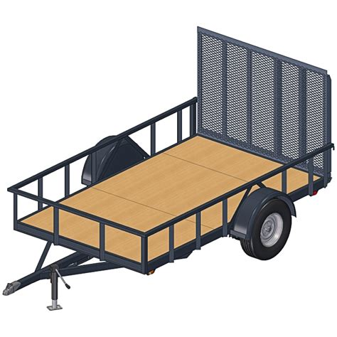 6x10 Enclosed Trailer Plans