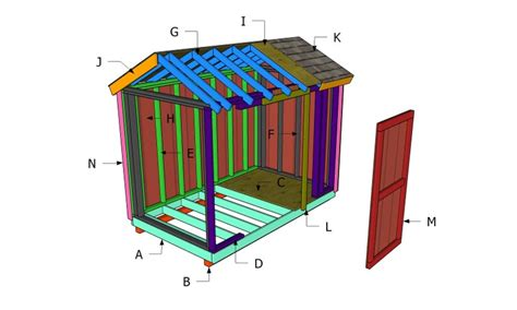 6x10-Garden-Shed-Plans