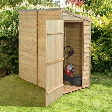 6x3 Lean To Storage Shed Plans