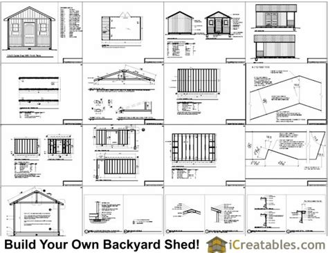 6x6-Saltbox-Shed-Plans