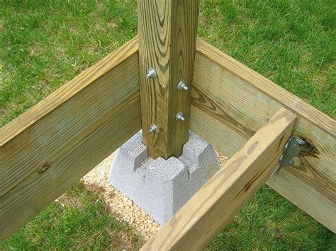 6x8 Deck Plans Using 4x4 Post