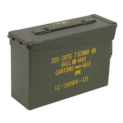 7 62 Ammo Box