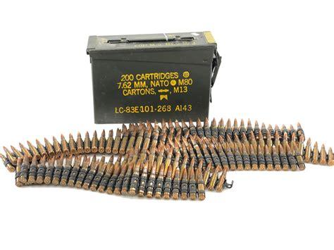 7 62 Linked Ammo