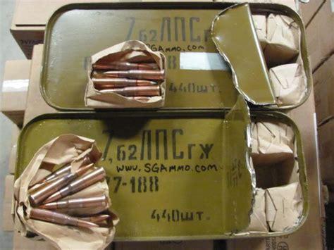 7 62 X54r Surplus Ammo Spam Can Identification