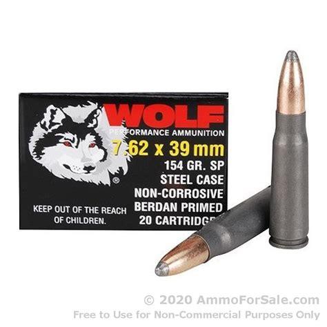 7 62x39mm Ammo Rifle Wolf AmmoSeek Com