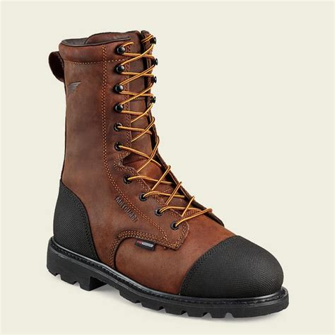 7311 10 Inch Heavy Duty Construction Mining Boot