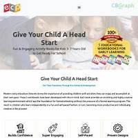 Cheapest 75% commision! fun workbooks for preschool and kindergarten kids