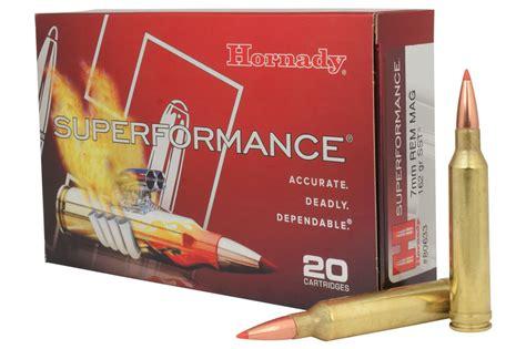 7mm Rem Mag 162 Gr SST Superformance - Hornady