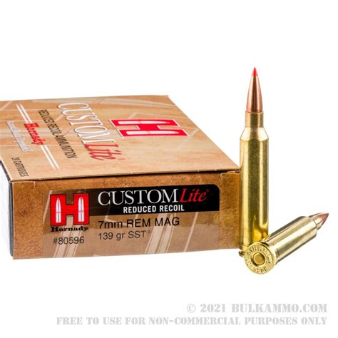 7mm Rem Mag Ammo For Coyotes