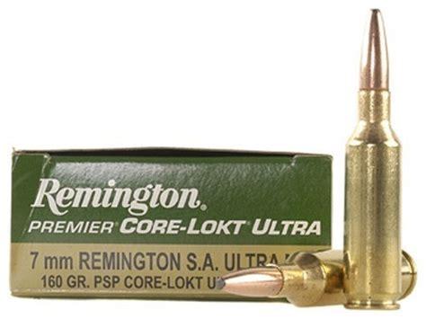 7mm Rem SAUM Short Action Ultra Magnum Ammo Rifle