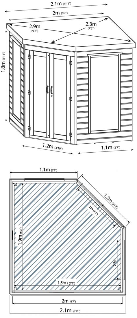 7x7-Corner-Shed-Floor-Plan
