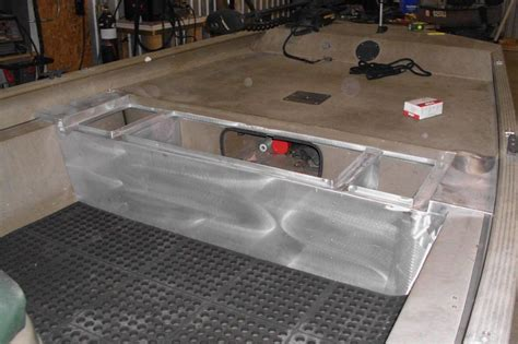 8 Bass Boat Flooring Plans